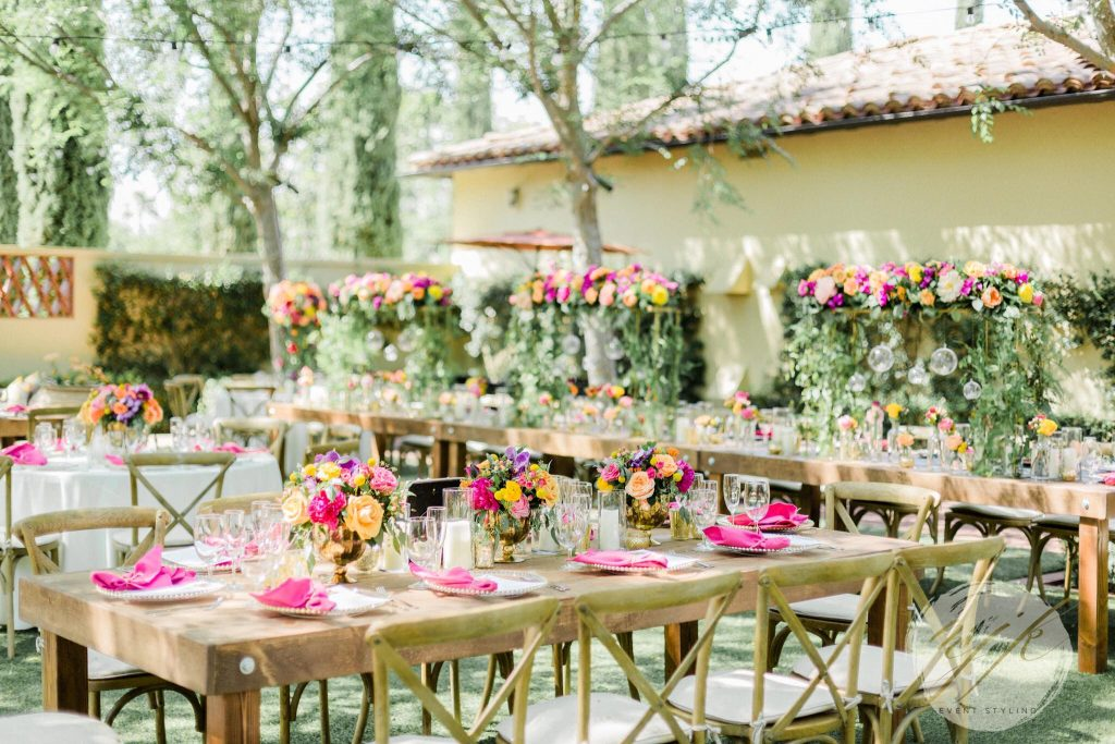 Elegant Floral Fiesta Birthday Party