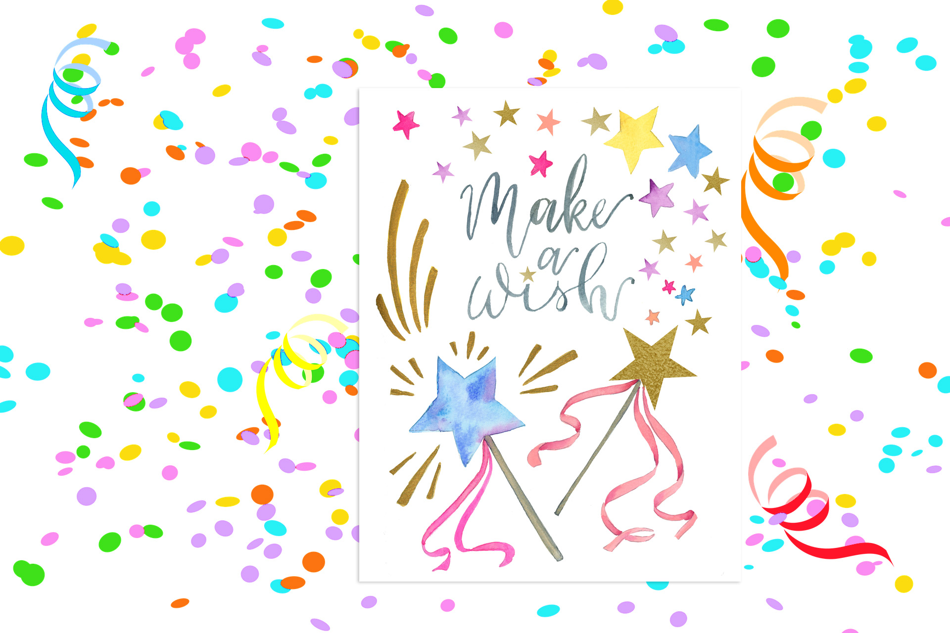 Make a Wish! Party Printable
