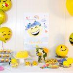 Emoji Birthday Party Celebration