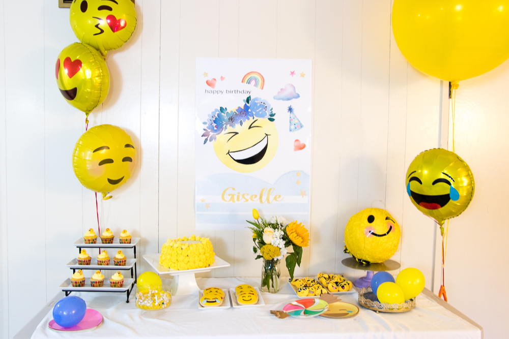 Emoji Birthday Party Celebration