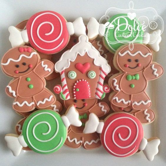 Simple Gingerbread Sugar Cookies