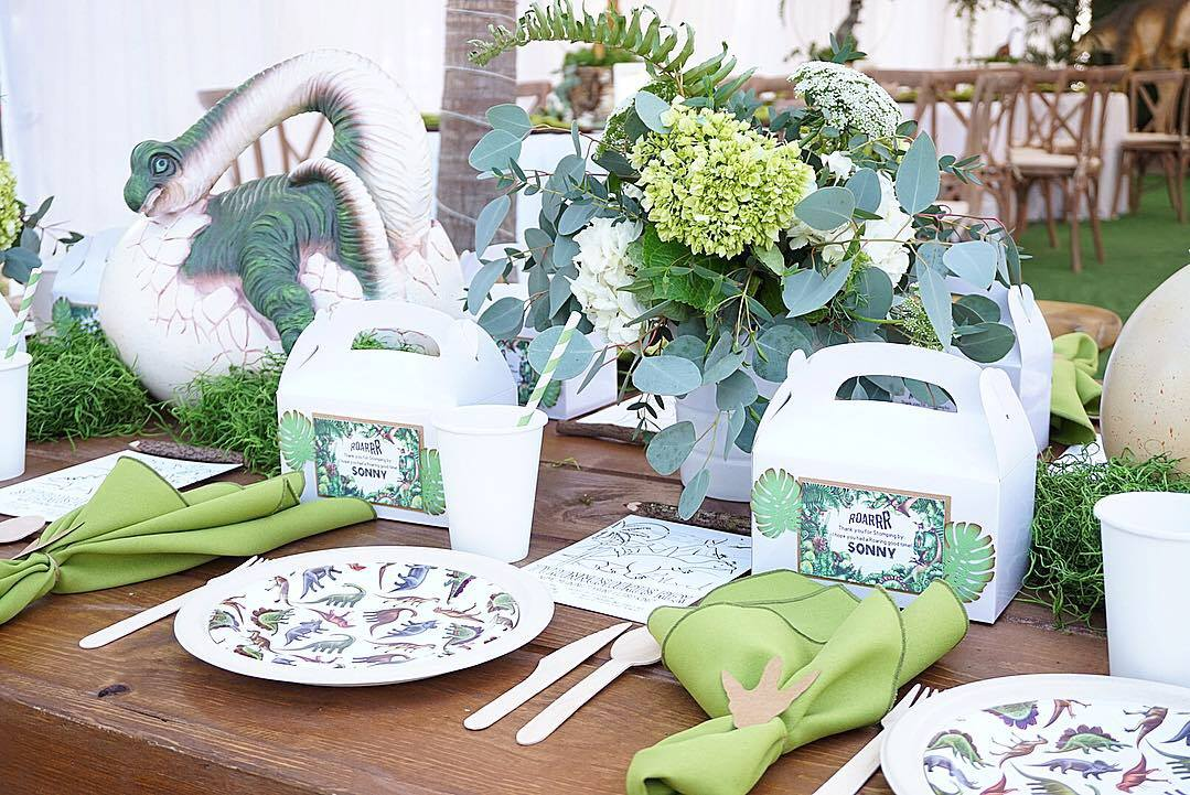 Dino-Mite Dinosaur Birthday Party Inspiration