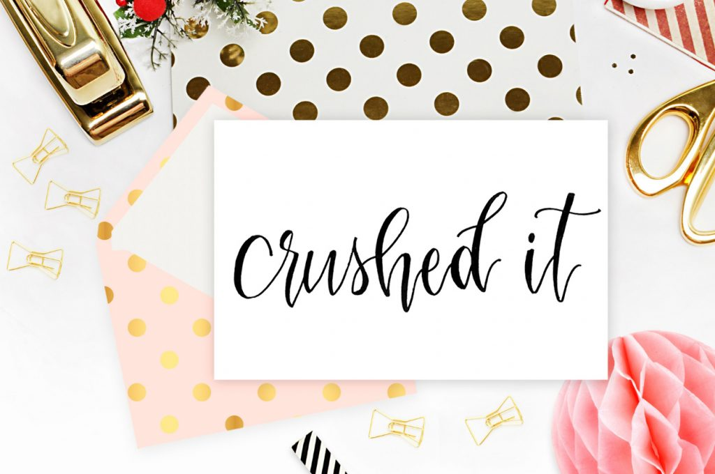 Cute Letterpress Script Free Printables_CrushedIt