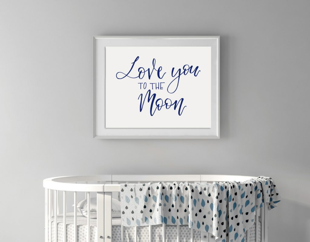 Cute Letterpress Script Free Printables_Love You