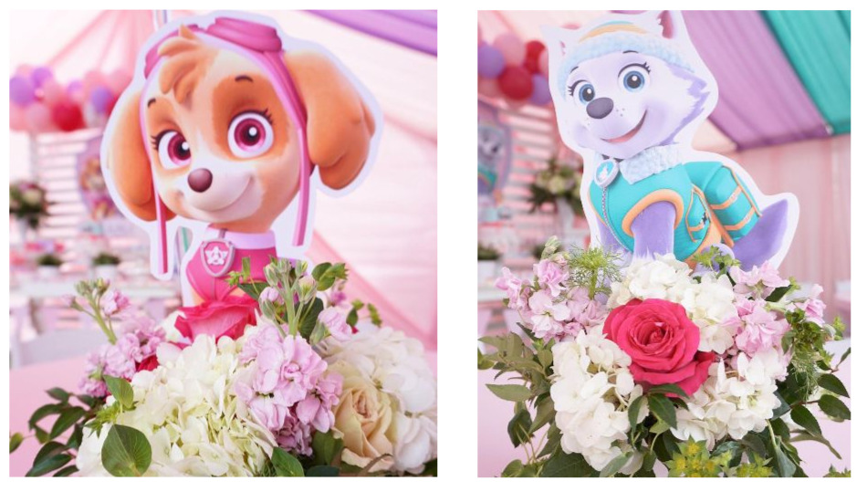 Surprising Paw Patrol Birthday Party For Girls Tinselbox Download Free Architecture Designs Scobabritishbridgeorg