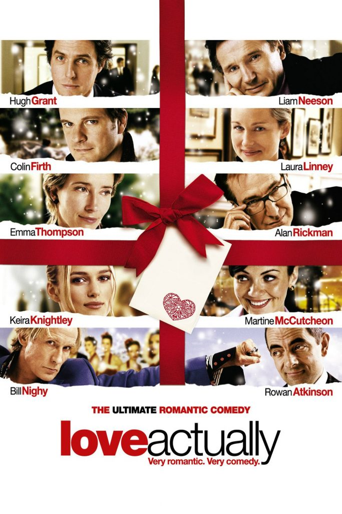 12 days of Christmas movies - love actually