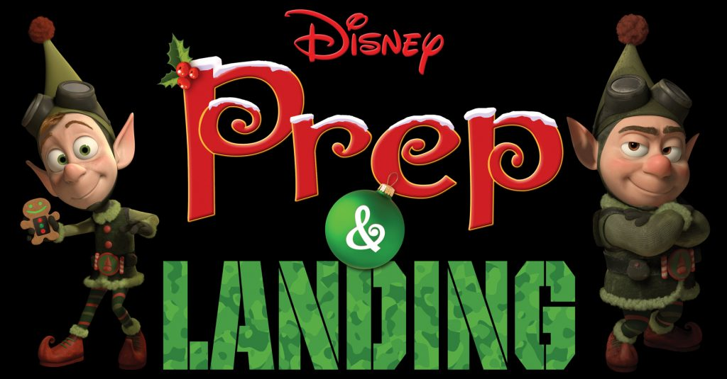 12 days of Christmas - prep and landing