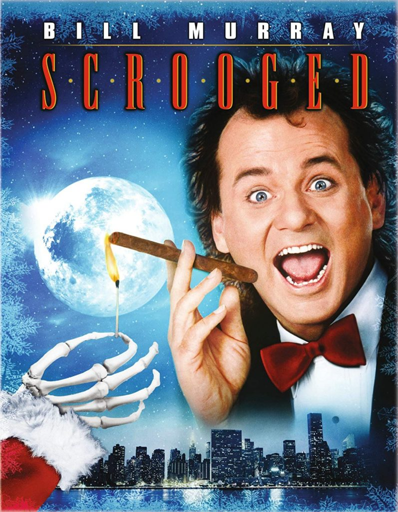 Scrooged 1988 Bill Murray - 12 Days of Christmas List