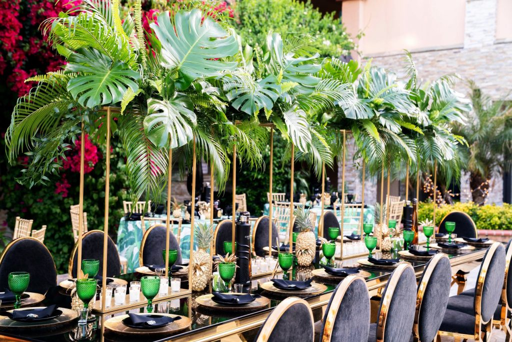 Tropical Glam 40th Birthday Party