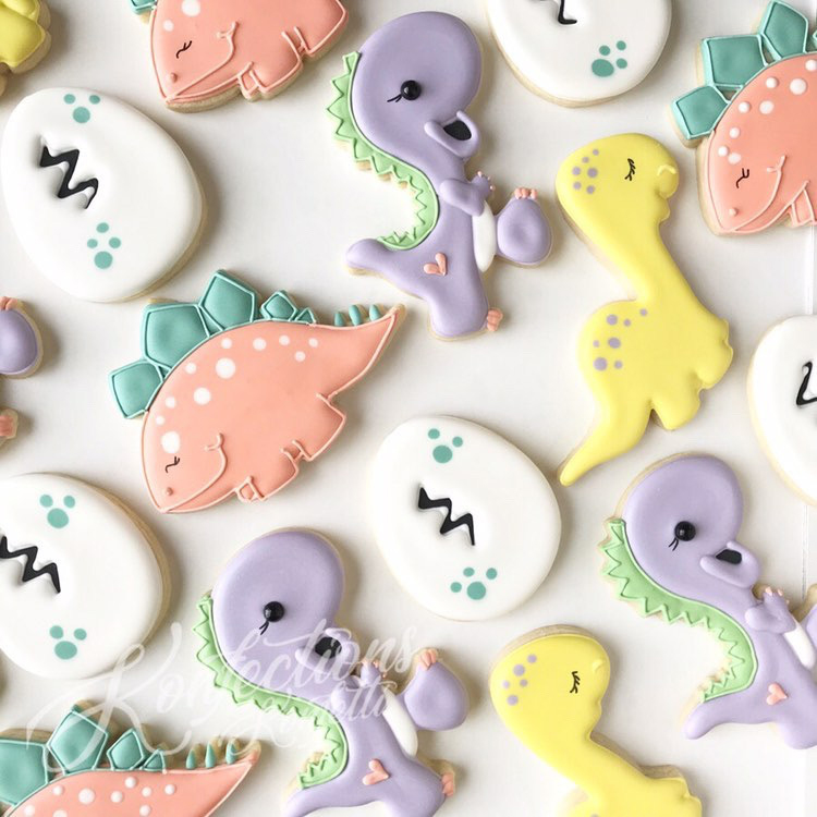 Adorable Dinosaur Cookies You Can Buy